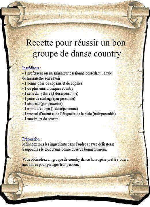 Recette country
